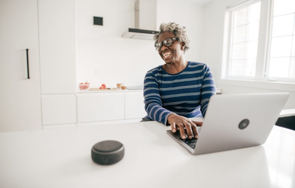 grandmother-part-of-brand-community-on-smart-assistant